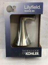 KOHLER Lilyfield 1-Hook Brushed Nickel Robe Hook R23535-BN
