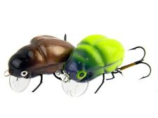 Imitations d'insecte Microbait Carabu / 24mm 1,6g / floating / leurre de surface