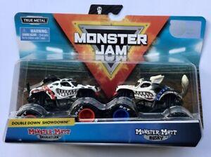 Monster Jam Truck MONSTER MUTT DALMATIAN & MONSTER MUTT HUSKY Very Rare !!