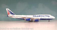 InFlight200 Boeing 747-400 Transaero VP-BVR a metal model in 1/200 scale