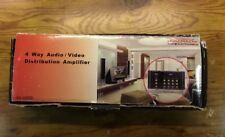4 Way Audio/Video Distribution Amplifier