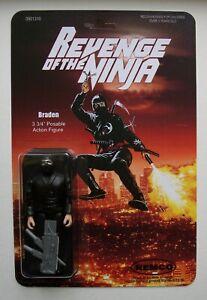 Custom made 3 3/4 Revenge of the Ninja Braden Vintage Style Action Figure