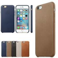New Ultra-thin Luxury Leather Slim Back Case Cover Skin For iPhone 6S & 6S Plus