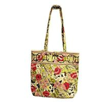 Vera Bradley Toggle Tote Handbag Retired Make Me Blush Large Flat Bottom Nice