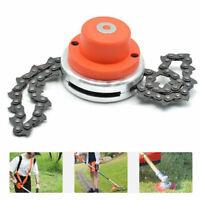 2020 65Mn Trimmer Head Coil Chain Brush Cutter Garden Grass Trimmer Lawn Mower