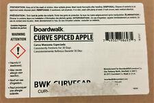 New listing Boardwalk Curve Air Freshener, Spiced Apple, Solid, Red, 10/Box, Bwkcurvesap