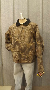 Vtg NEW Walls Outdoors Realtree Hardwoods Camo Quilted Jacket XXL Hunting 2XL