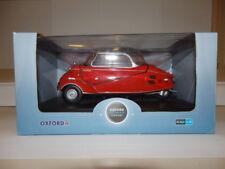 Oxford Diecast Model 18MBC001 1955 Messerschmitt kr200 1:18 Red Rouge Sarde