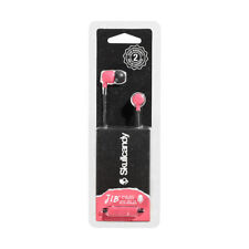 SkullCandy Jib Wired Earbuds with Mic, Pink New Sealed