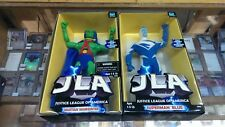 "Hasbro - Martian Manhunter / Superman Blue - Action Figure Lot 8"" 9"" JLA 1999"