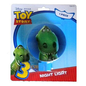 Disney TOY STORY REX Dinosaur Plug-in Adjustable Kids Night Light w bulb NEW