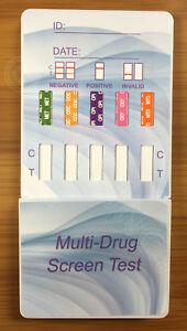 10 Pack 6 Panel Urine Dip Instant Drug Test Strips Kit FDA Free Shipping