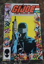 GI Joe #53 Marvel Comics American Hero Comic Book CT