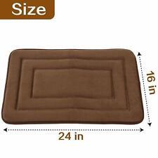 2Pcs 16 x 24 Memory Foam Bath Mat Bathroom Bedroom Floor Shower Rug Doormats