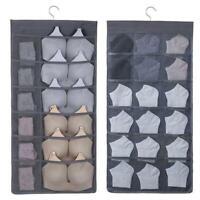 30 Tasche Hängeaufbewahrung Hängeorganizer Tür Kleiderschrank Socken Unterwäsche