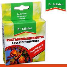 Dr.Stähler 1 x 3 Kastanienminiermotte Lockstoffdispenser