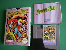 Nintendo NES BOULDER DASH Complet PAL B FRA / FAH