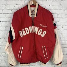 Men's VNTG/Retro NHL Hockey Detroit Redwings(L)Reversible Mirage Full Zip Jacket