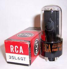 NEW IN BOX RCA 35L6GT RADIO AUDIO OUTPUT TUBE / VALVE - USA