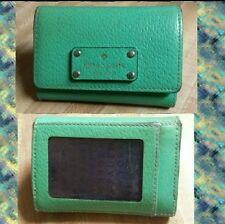 Women's Kate Spade New York Bud Green Wellesley Darla Mini Wallet Keychain/Coin