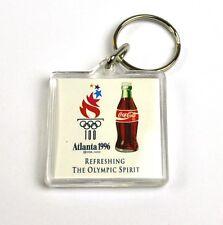 Coca-Cola Coca Cola USA Catena chiave Anello Portachiavi Atlanta 1996 Bottiglie