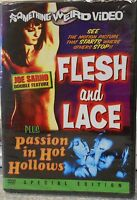 Flesh and Lace 1965 Passion in Hot Hollows 1969 ( DVD 2004 Special Edt)RARE NEW