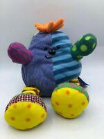 Where's Boo! Tell Tale Cbeebies Sensory Plush Kids Stuffed Toy Beanie Animal