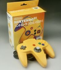 Nintendo 64 N64 Yellow Controller Pad Japan F/S Boxed Y01
