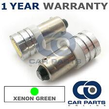 2x XENON VERDE BAX9S H6W 434 LUCI DI POSIZIONE upgrade LED SMD LAMPADINE