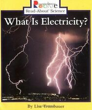 Rookie Read-About Science Ser. Physical Science Ser.: What Is Electricity? by...