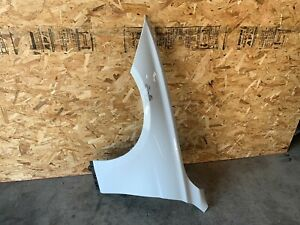 BMW 2012-2018 F30 F31 LEFT DRIVER SIDE FENDER WHITE ALPINE 300 OEM 60K