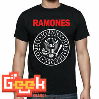 Ramones tshirt - PUNK ROCK MEN's T SHIRT SMALL-5XL RED/WHITE LOGO