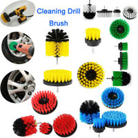 6PC Tile Grout Power Scrubber Cleaning Drill Brush Tub Cleaner Combo Kit AU Lot