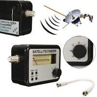 Analog Satellite Finder Signal Meter for Direct TV Sat Dish Sky Freesat
