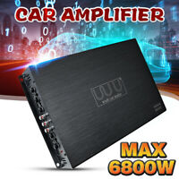 6800W 4 Channel Car Amplifier Power Stereo Bass Audio AMP Subwoofer Power 12V DC