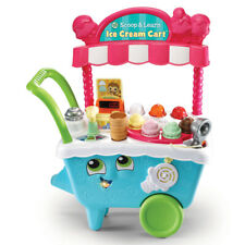 Leap Frog Scoop & Learn Ice Cream Cart Scooper Role Play Pretend Toddler Toy