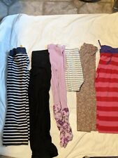Girls clothing lot size 7-8 120/130 Hanna Anderson mini boden leggings knit pant