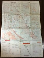 OS ORDNANCE SURVEY MAP-RHODESIA -HOZORI 1929 A2-RIC MILITARY RESTRICTED-1968