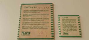 DURST 1200 FEMOGLA/AN & Durst Femobox Part 450N Diffuser