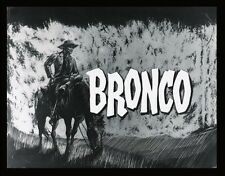 "BRONCO TV LOGO POSTER. 11"" X 15""........ TY HARDIN"
