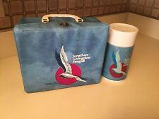 Rare Jonathon Seagull 1973 Aladdin Vinyl Lunchbox & Thermos Excellent Mint
