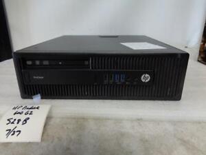 HP Prodesk 600 G2.5 Core i3-6100 3.70GHZ 4GB 500 GB HDD DVD+RW (S28B)