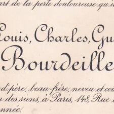 Hélie Louis Charles Gustave De Bourdeille Paris 1896