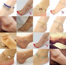 New Fashion Foot Jewelry Chain Link Anklets for Women Girl Anklet Bracelets Gift