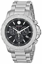 Movado 2600110 Series 800 Chronograph Black Dial Men's Watch