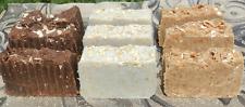 Milk Soap Selection 9 Bars of Goats Coconut Almond Milk Lard and Laye Soap