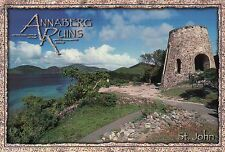 Annaberg Ruins, St. John US Virgin Islands, Sugar Mill Plantation USVI, Postcard