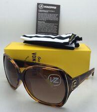 New VONZIPPER Sunglasses VZ TRUDIE Tortoise Frames with Brown Gradient Lenses