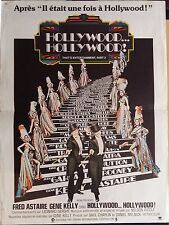 Affiche HOLLYWOOD HOLLYWOOD That's Entertainment FRED ASTAIRE Gene Kelly 40x60 *