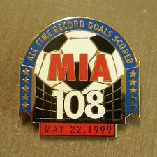MIA HAMM #9 ALL TIME RECORD GOALS SCORED MAY 22, 1999 LAPEL PIN